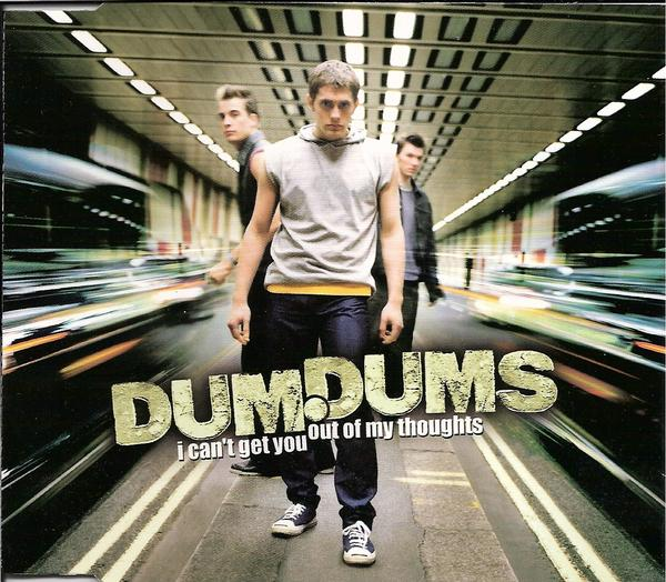 Dum Dums Can't Get You Out of My Thoughts single cover