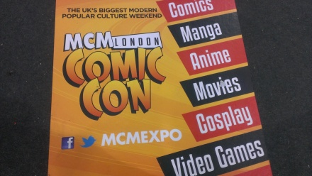 MCM London Comic Con 2013 Poster MCMExpo 2013