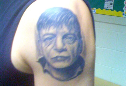 shit arm bad tattoo mark e smith the fall tattoo